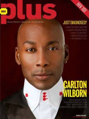 {Magazine} Carlton Wilborn Covers HIV Plus