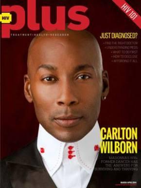 {Magazine} Carlton Wilborn Covers HIVPlus