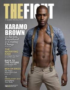 Karamo Brown on The Fightmag